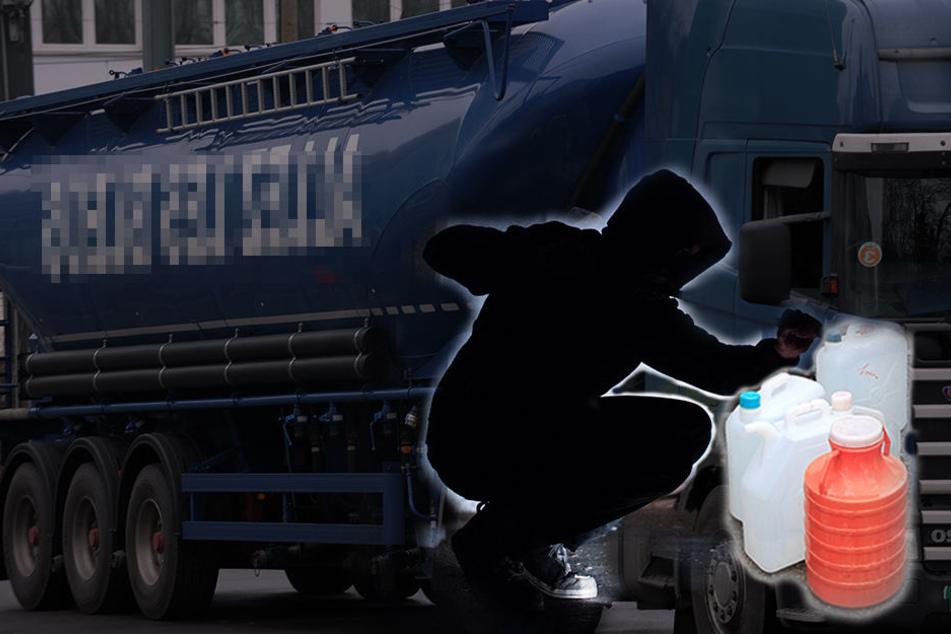 Der Diesel-Dieb (32) hatte sich am Donnerstagabend mit einem Komplizen am Tank eines Lkws zu schaffen gemacht. (Symbolbild)