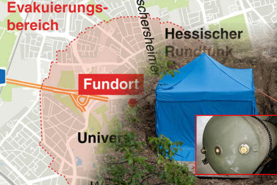 Bomben-Entschärfung in Frankfurt: Seid am Sonntag live dabei mit TAG24!