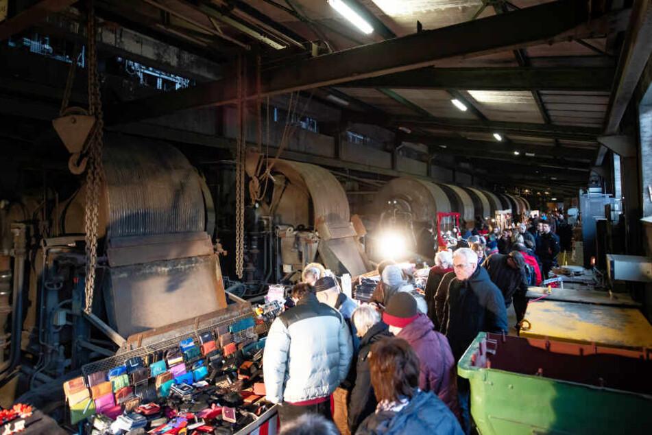 Über Tage fand der Weihnachtsmarkt statt.