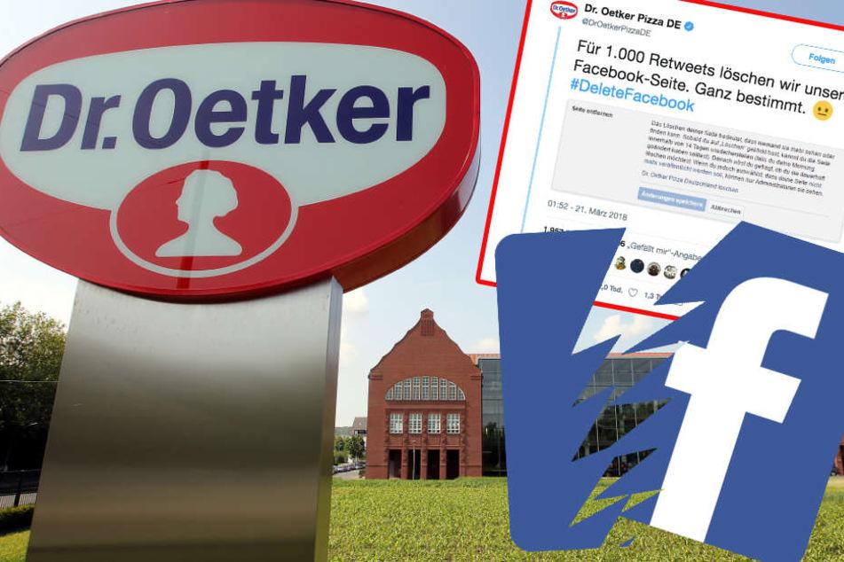 Dr. Oetker sorgte schon mehrfach für Aufmerksamkeit in den sozialen Netzwerken.