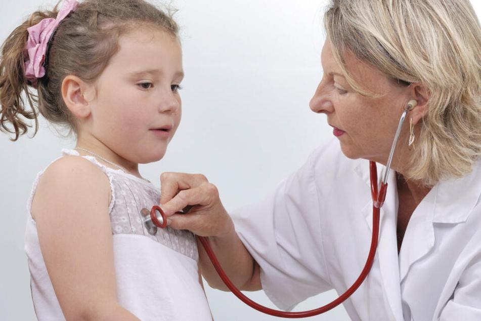 Auch kleine Patienten werden an den Feiertagen versorgt.