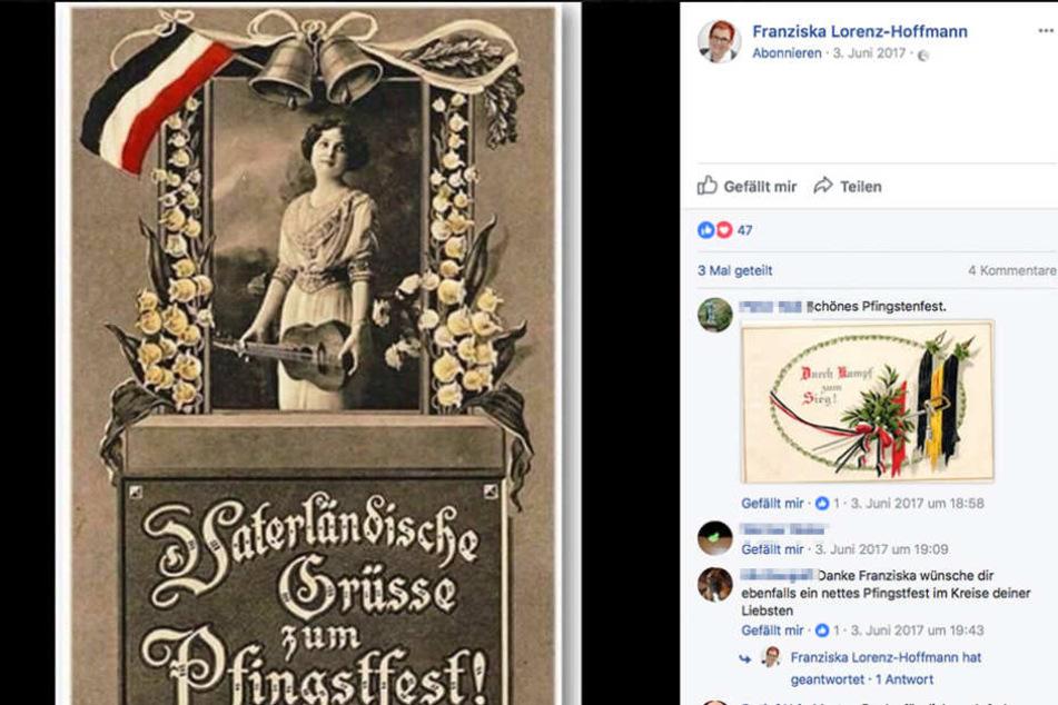 Dieses Bild postete die AfD-Politikerin bereits im Juni 2017.