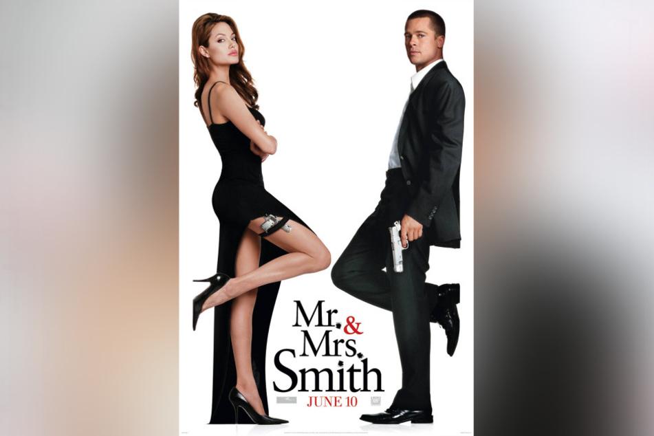 Das Paar lernte sich 2005 bei den Dreharbeiten zu Mr. & Mrs. Smith kennen und lieben.