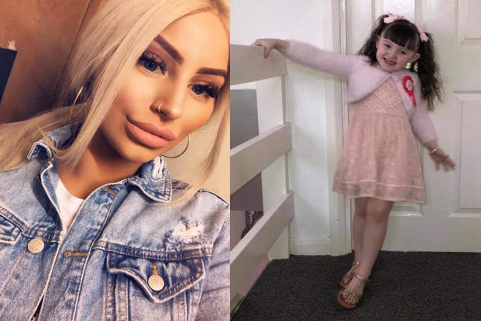 Jade will die Puppe ihrer Tochter Freya (4) verkaufen.