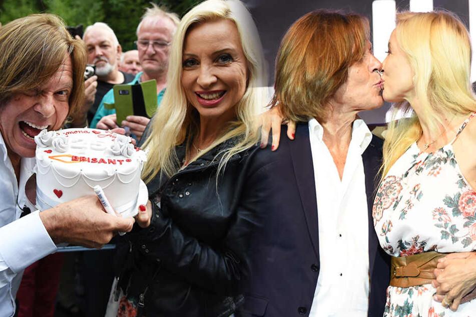 Nix romantisches Dinner: Jürgen Drews feiert Silberhochzeit auf der Bühne