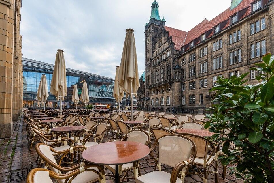 Ab 15. Mai könnte die Gastronomie in Chemnitz wieder anlaufen.