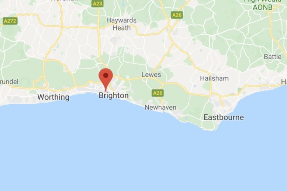 Der Ort Hove liegt bei Brighton an der Südküste Englands.