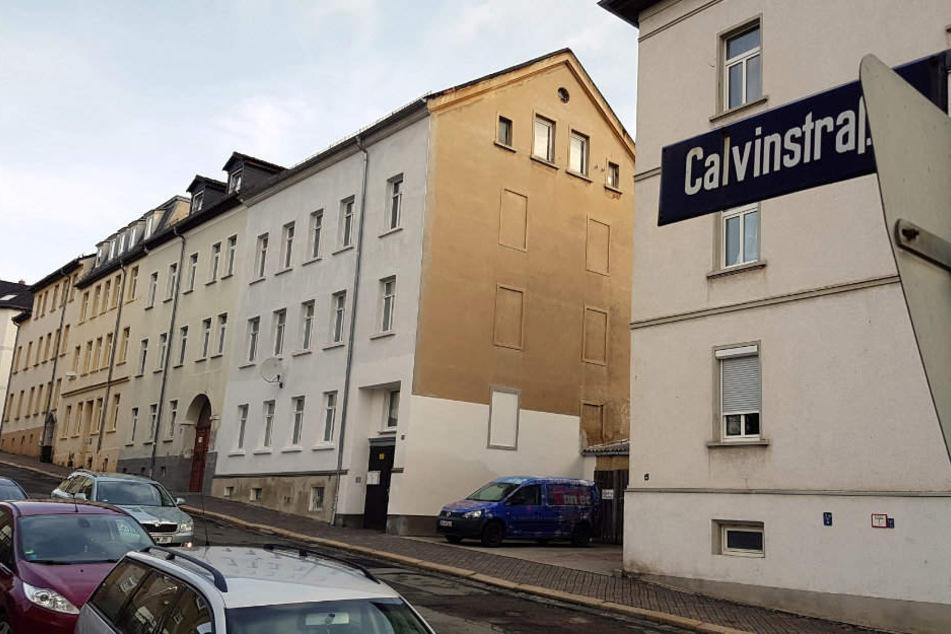 In der Calvinstraße geschah das schreckliche Verbrechen.