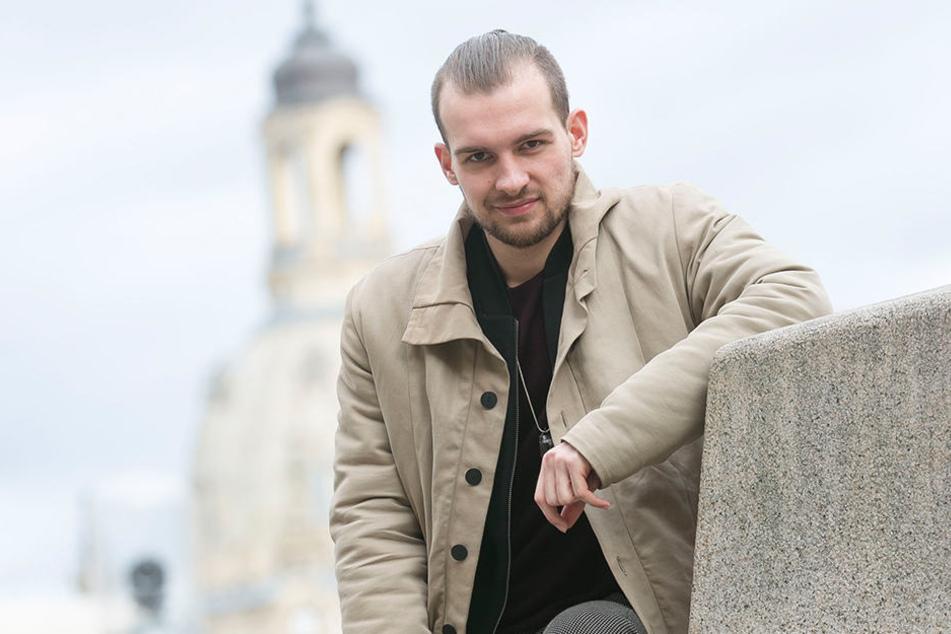 """Schauspieler Eric Stehfest (28) - seit 2014 spielt er in der RTL-Soap """"Gute  Zeiten - Schlechte Zeiten"""" mit."""