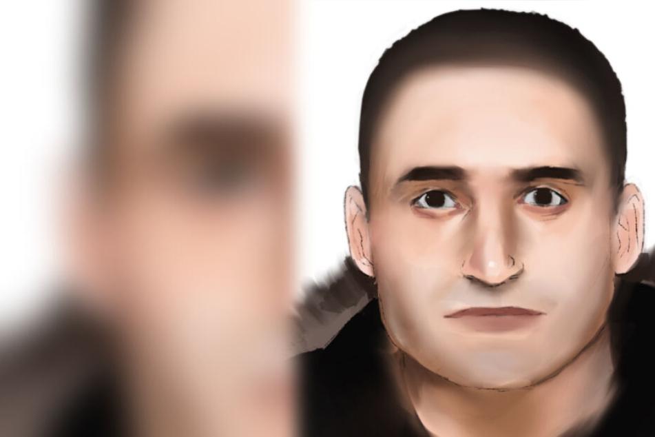 Sex-Angriff auf 21-Jährige: Wer erkennt diesen Mann?