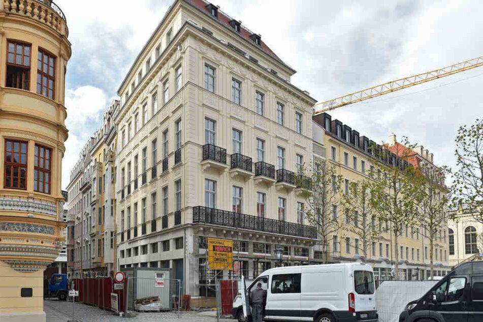 Das Blobel-Haus am Dresdner Neumarkt wurde verkauft.