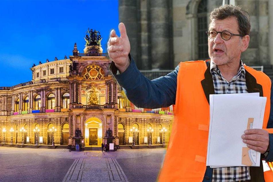 Zoff an lila Semperoper: Rathaus-Verbot für Krebsärzte