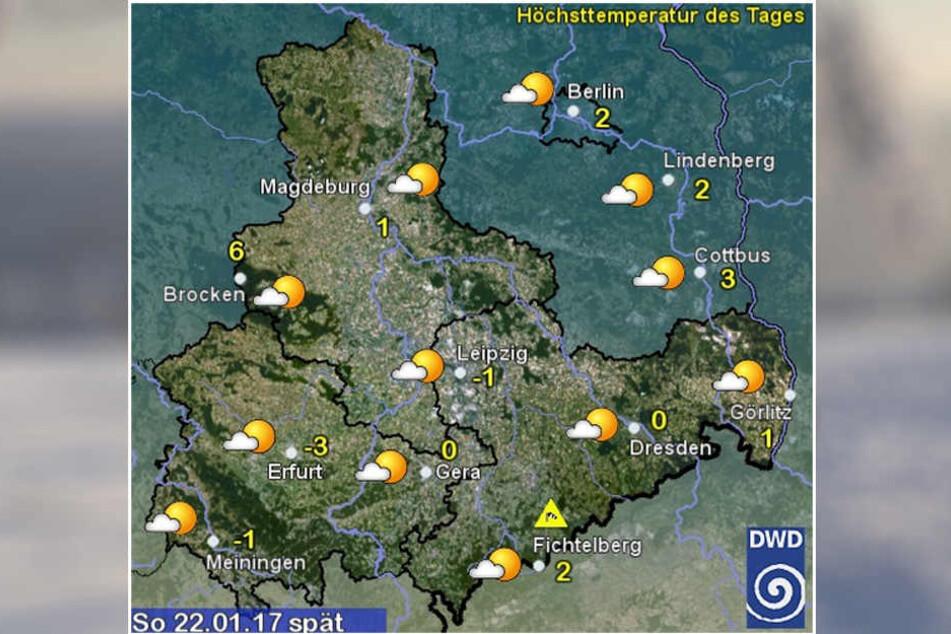 Laut dem Deutschen Wetterdienst können wir Sonntag neun Stunden lang die Sonne genießen.