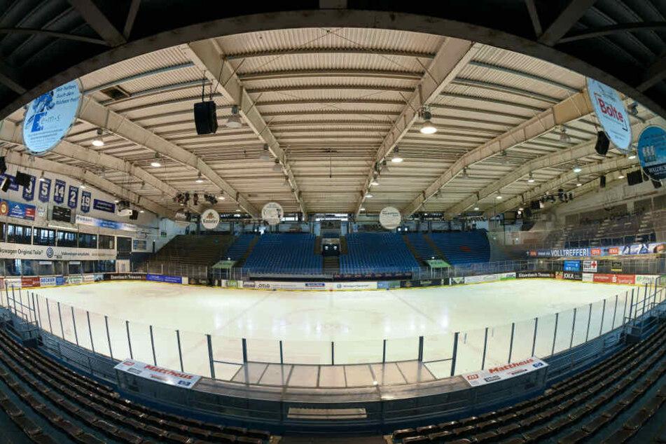 Die Eissporthalle in Kassel bietet Platz für 6100 Fans.