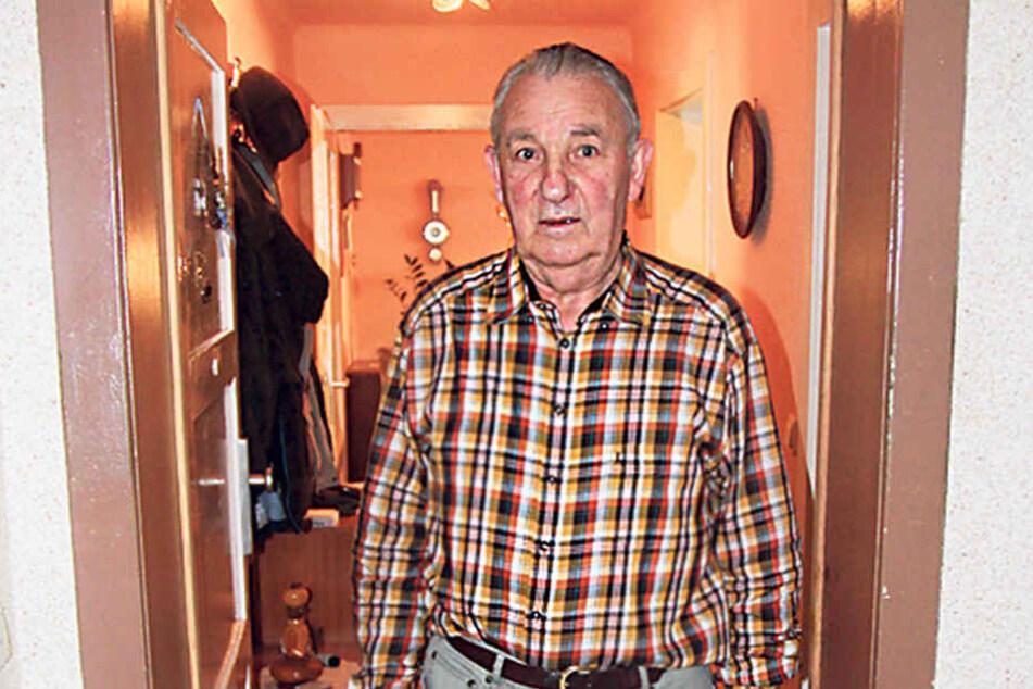 Opfer Otto Westerland (77) ist froh, dass sein Fast-Mörder so schnell nicht  mehr wiederkommt.