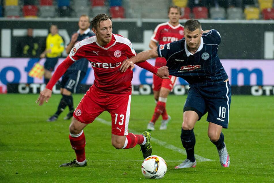 Das letzte Zweitliga-Spiel in der Esprit-Arena gewann Düsseldorf 1:0.