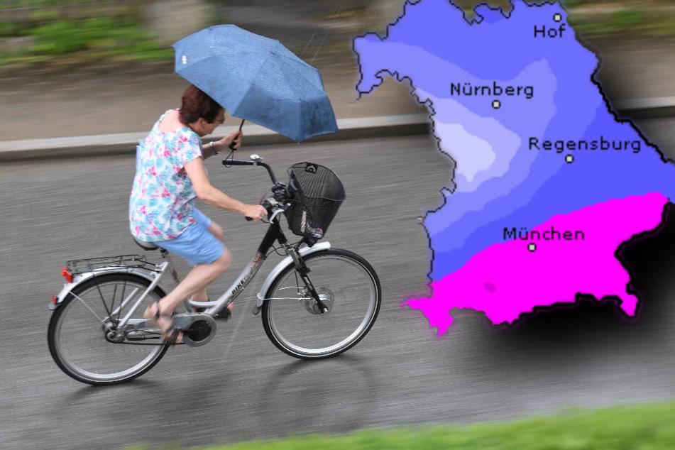 Starkregen und Gewitter nach Hitzewelle: erstes Ferienwochenende wird ungemütlich