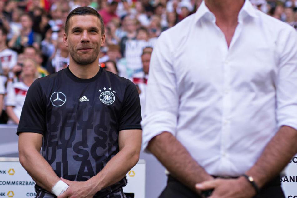 Nationalspieler Lukas Podolski (31).