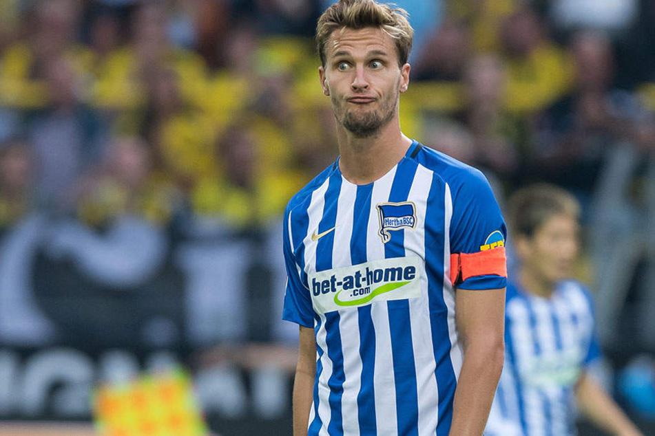 Herthas Sebastian Langkamp steht vor einem Wechsel zu Werder Bremen.
