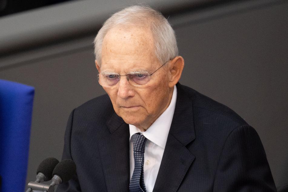 Bundestagspräsident Wolfgang Schäuble (78, CDU).