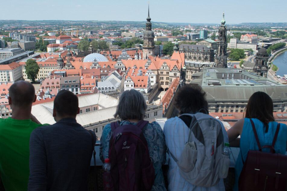 Dresden von oben: Immer wieder schön.