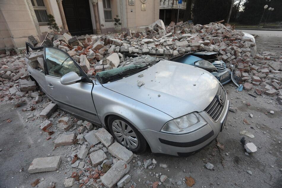 Auch am Mittwochmorgen hat es zwei weitere Erdstöße in Kroatien gegeben.