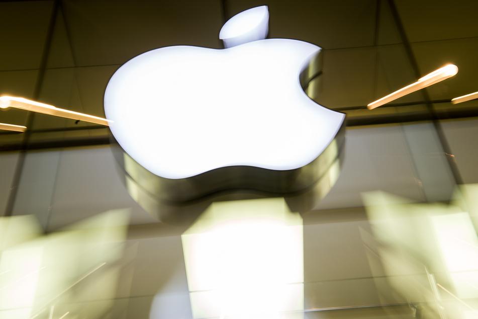 Das berühmte Apple-Logo.