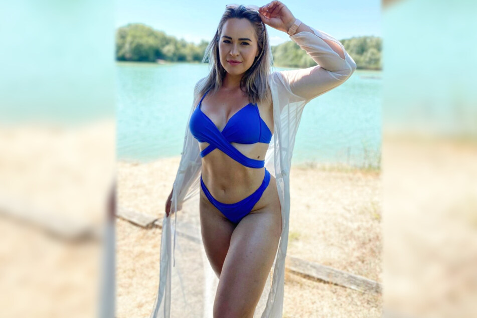 Die Frankfurter Personaltrainerin Miri zeigte sich ebenfalls in einem heißen Bikini-Look.