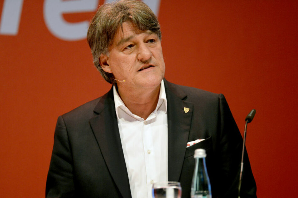 Ex-VfB-Präsident Bernd Wahler.