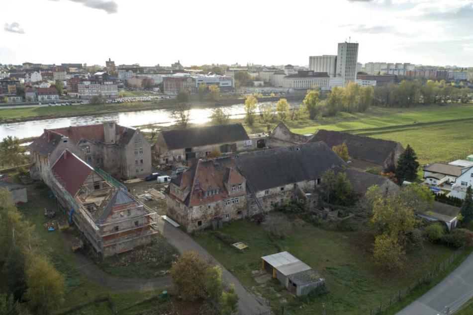 Das Schloss Promnitz ist baufällig.