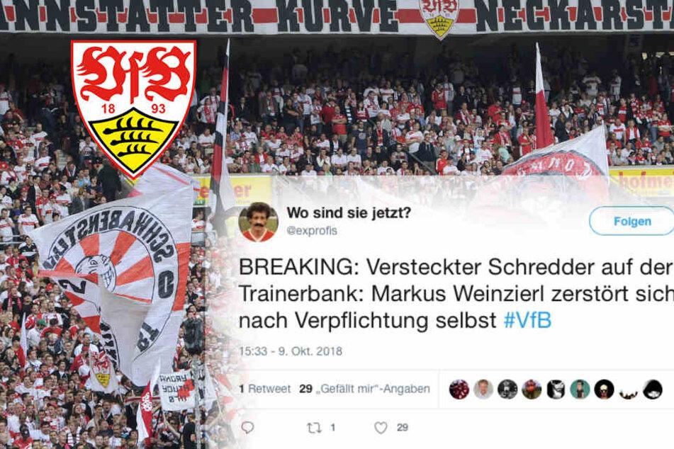 Neuer VfB-Coach Weinzierl: Das sind die Fan-Reaktionen!