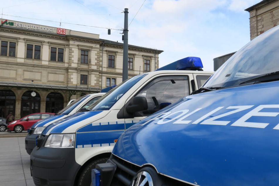 Chemnitz: Er hatte über 3 Promille intus: Mann mit Waffe am Bahnhof erwischt