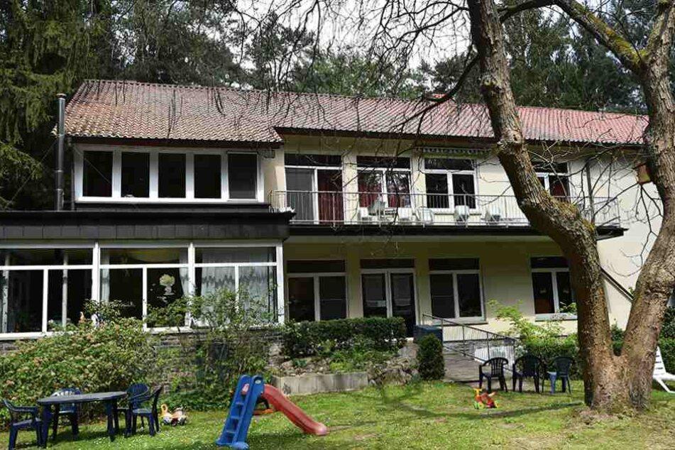 In diesem Haus lebte eins DDR-Staats- und Parteichef Walter Ulbricht.