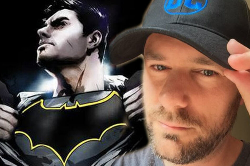 Autor Tom King und Comic-Held Batman.