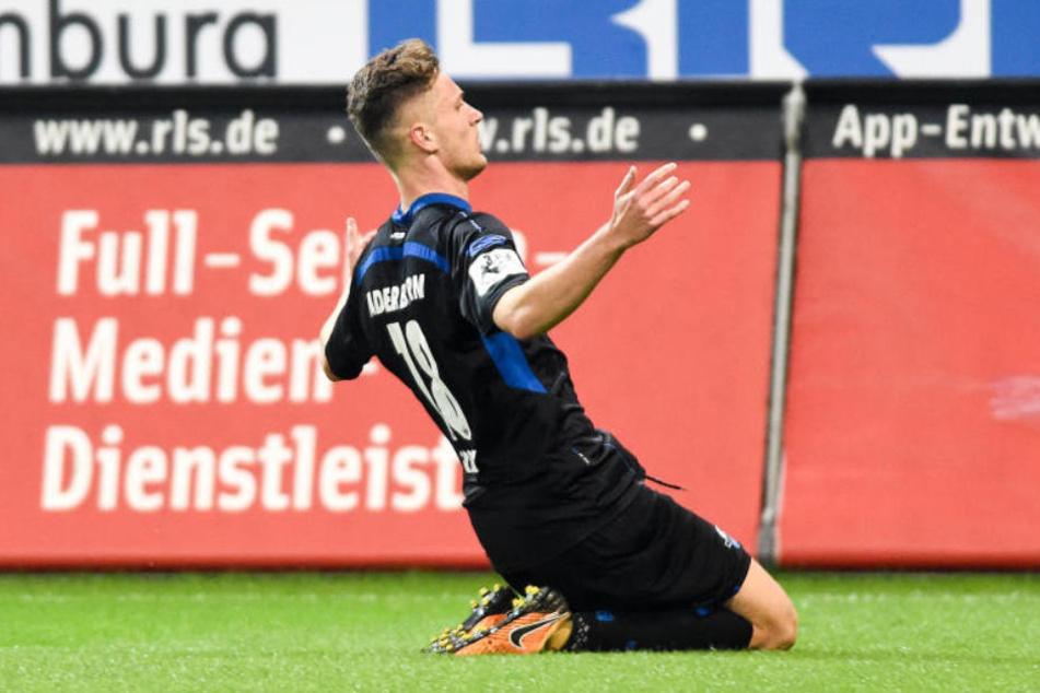 Dennis Srbeny wird nicht mehr im Trikot des SC Paderborn auftreten.