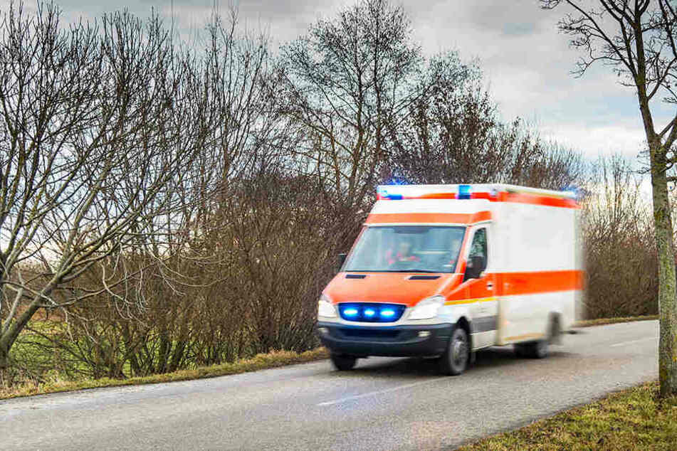 Der Opelfahrer und sein Beifahrer wurden bei dem Unfall schwer verletzt. (Symbolbild)