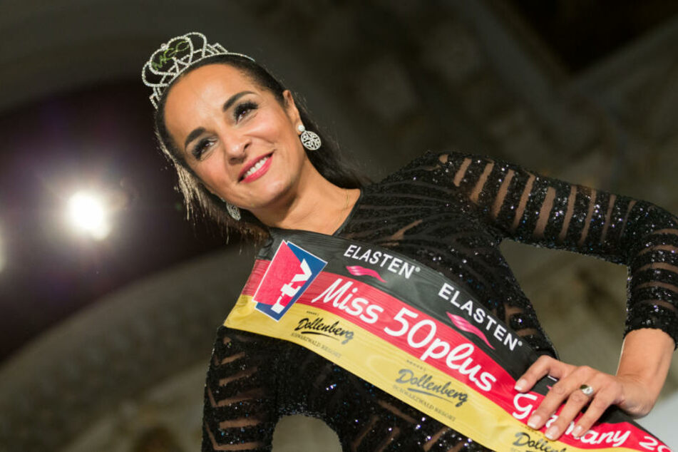 "Hat die Wahl zur ""Miss 50plus Germany 2018"" gewonnen: Manuela Thoma-Adofo (50)."