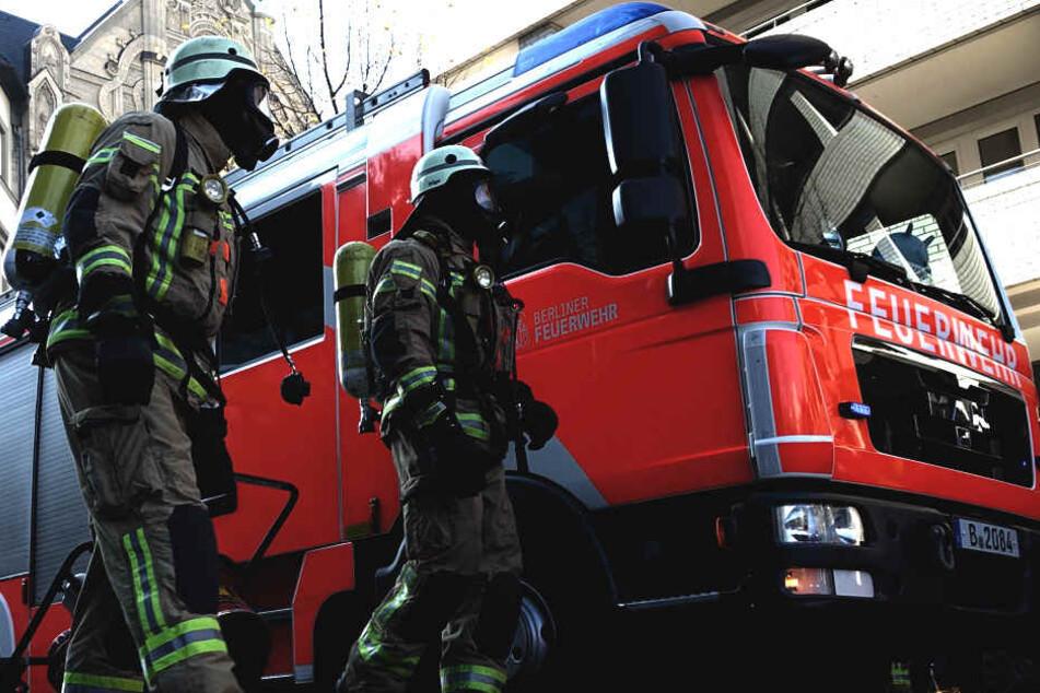 Die Feuerwehr konnte den Brand rasch unter Kontrolle bringen. (Symbolbild)