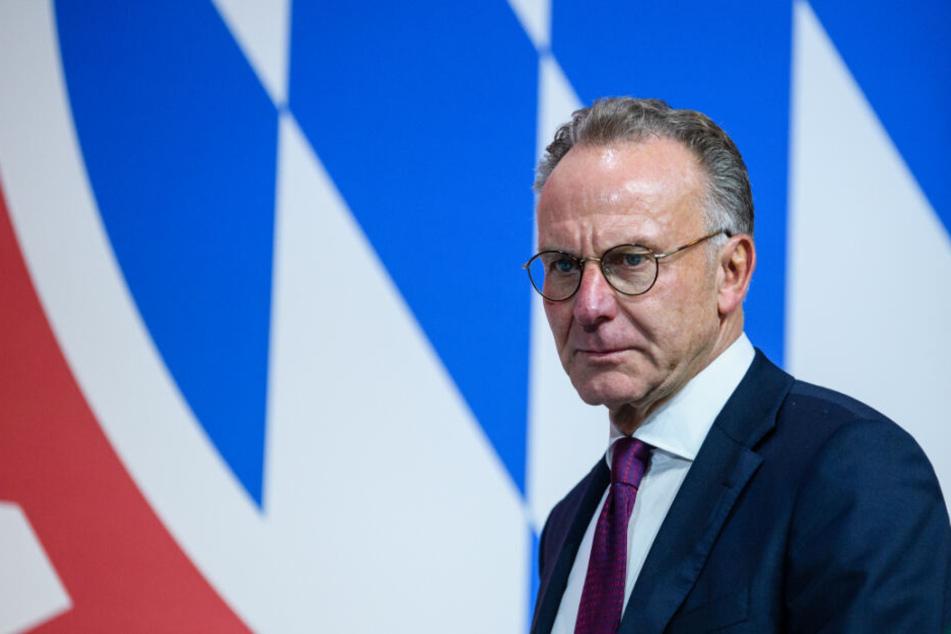 Vorstandschef Karl-Heinz Rummenigge.