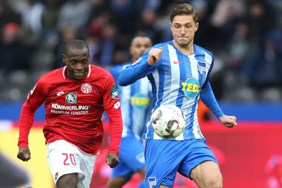 Doppelpacker Niklas Stark spielte die Hauptrolle im Heimspiel gegen Mainz.