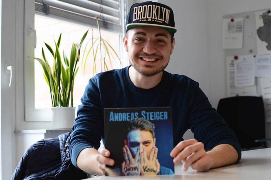 Mit Stolz präsentiert Andreas Steiger seine erste eigene Single.