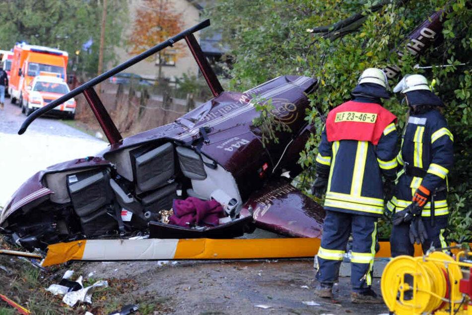 Am 24. Oktober 2010 stürzte Anna-Maria Zimmermann auf dem Weg zu einem Auftritt mit dem Hubschrauber ab.