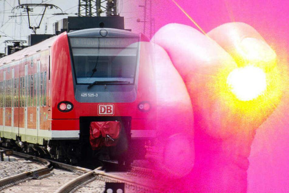 Zum Glück blieben die beiden Zug-Führer unverletzt. (Bildmontage)