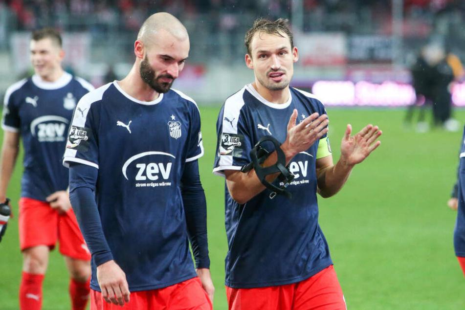 Gute Freunde: Nico Antonisch (l.) und Toni Wachsmuth.