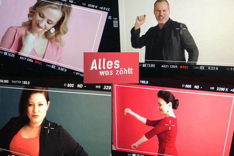 """Neuer Vorspann, neues Logo: Frischer Anstrich für die RTL-Soap """"Alles was zählt""""."""