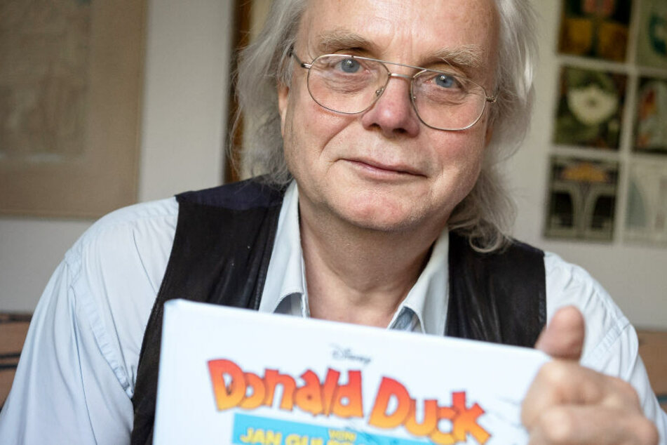 Jan Gulbransson zeichnet seit fast 40 Jahren Donald-Duck-Comics.