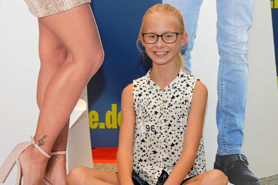 Victoria Kienko (10) möchte gern einmal ins Fernsehen.