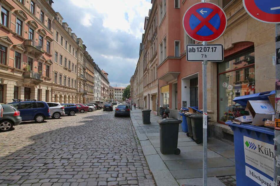 Die Martin-Luther-Straße und die Pulsnitzer Straße werden umfassend  saniert.