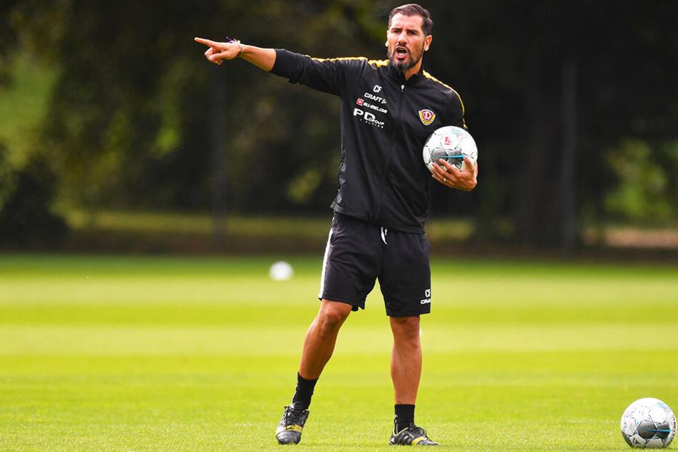 Cristian Fiel achtete in dieser Wochen energisch darauf, dass seine Jungs die Spannung halten und keiner Dassendorf unterschätzt.
