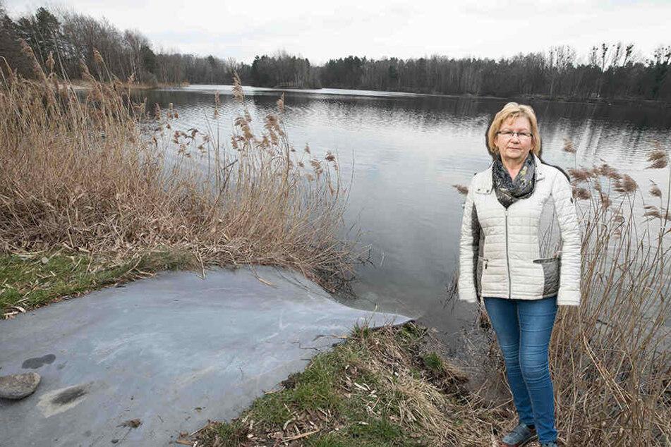 Kassiererin Heidi Bloch (61) rettete dem kleinen Josef (3) das Leben.